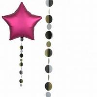 Elegant Circles Balloon Tails