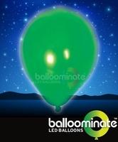 Balloominate Green colour balloon / green colour  LED