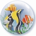 24 Inch Seaweed Tropical Fish Double Bubble balloon