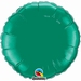 18 Inch  Emerald Green Round Foil