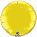 18 Inch  Citrine Yellow Round Foil
