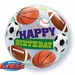 22 Inch Birthday Sport Balls Bubble Balloon