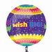 Happy Birthday Confetti Orbz Foil Balloon