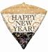 New Year Sparkle Diamondz Foil Balloon