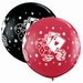 3ft Casino Dice And Cards Giant Latex Balloons 2pk