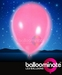 Balloominate Pink colour balloon / pink colour  LED