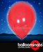 Balloominate Red colour balloon / red colour  LED