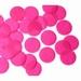 25mm CERISE Circular Tissue Confetti 100 gr