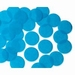 25mm TURQUOISE Circular Tissue Confetti 100 gr