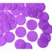 25mm PURPLE Circular Tissue Confetti 100 gr