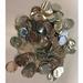 10mm Metallic Silver Circular Confetti 30g